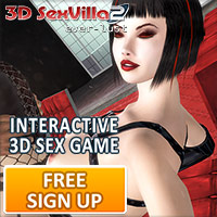 Interactive 3D sex game with virtual naked models